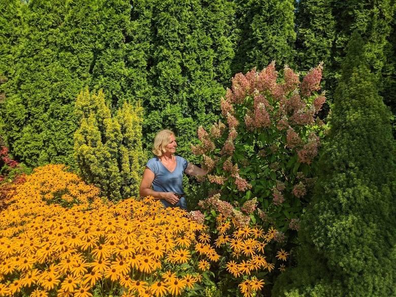 Zaczarowany ogród pod Gdowem. Na taki raj trzeba zapracować [ZDJĘCIA]