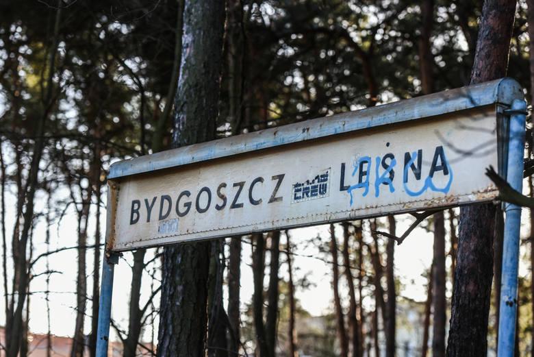 Budowa Dworca Bydgoszcz Leśna.
