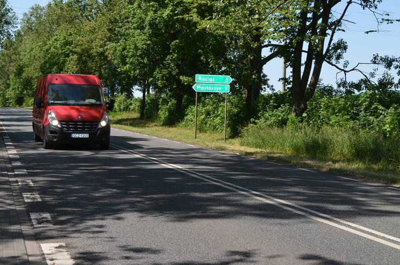 To też droga nr 240, ale remont dotyczy jej dalszego odcinka, od skrzyżowania Warszawskiej i Nowodworskiego w Tucholi.