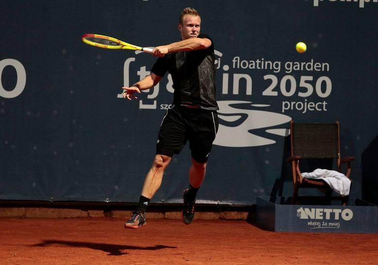 Pekao Szczecin Open. Awans Panfila, porażki naszych deblistów [zdjęcia]