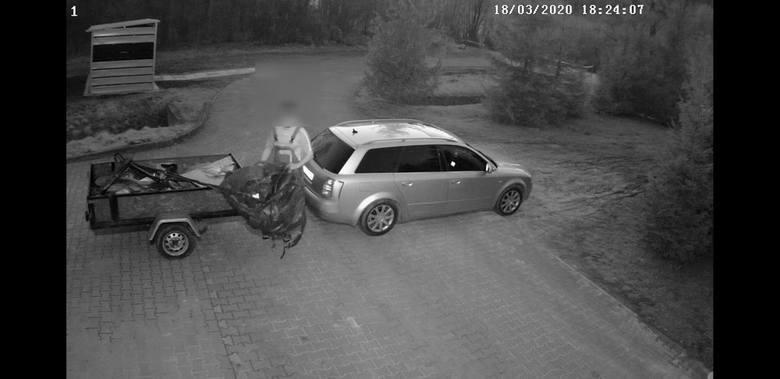 Podrzucających nielegalnie śmieci w Jaszczurowej nagrywaja kamery a Urząd Gminy zdjęcia wrzuca do internetu