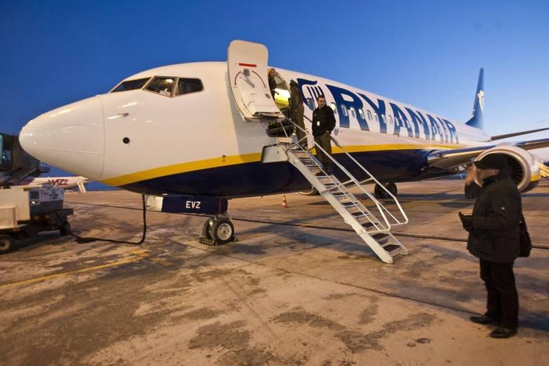 Samoloty Ryanair Wrocław - Warszawa polecą tylko raz dziennie. Kiepska pora