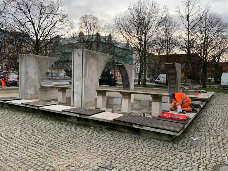Remont fontanny placu Zwycięstwa w Szczecinie za prawie milion złotych