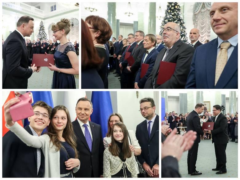 Prezydent Rzeczypospolitej Polskiej Andrzej Duda wręczył akty nominacyjne nauczycielom akademickim oraz pracownikom nauki i sztuki.