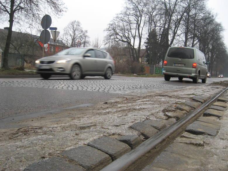 Torowisko przy ul. Kostrzyńskiej