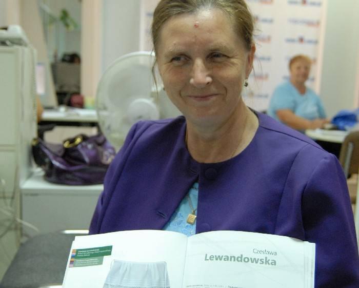 Czesława Lewandowska – twórczyni ludowa z Ostrołęki