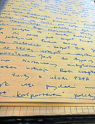 Teczka pracy TW Bolesława ma ponad 200 stron. Lektura jest bardzo wciągająca, daje obraz życia w PRL-u.