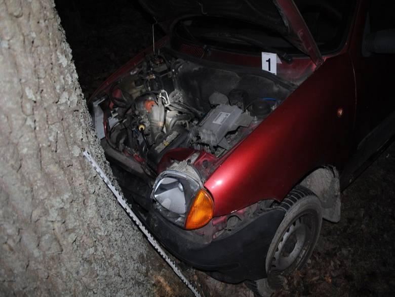 Policjanci pracowali na miejscu dwóch wypadków drogowych koło Niska. W Groblach kierowca pojazdu osobowego wjechał w drzewo, w Racławicach citroen zderzył
