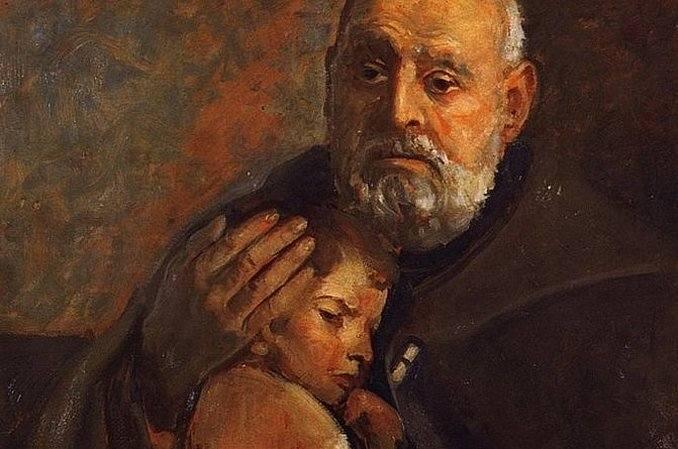 Święty Albert Chmielowski (1845 - 1916 r.)Polski zakonnik franciszkański, założyciel zgromadzenia albertynów i albertynek, powstaniec styczniowy oraz