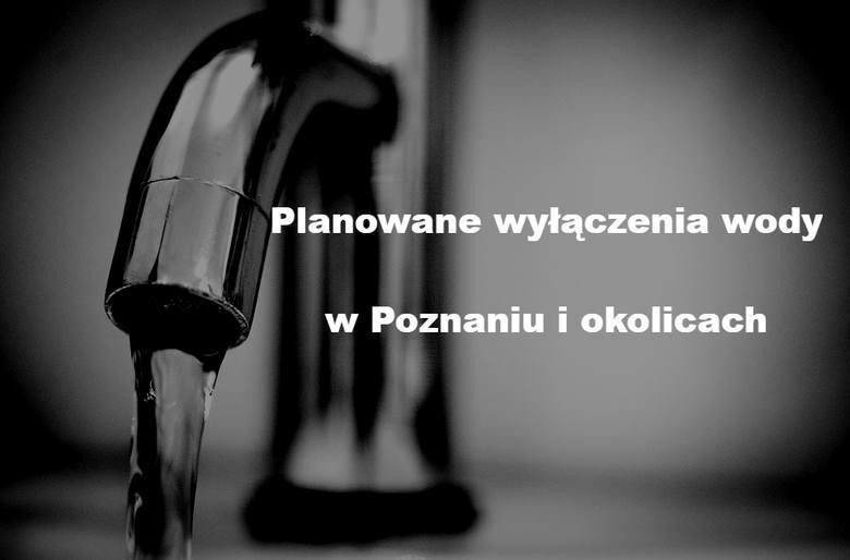 W związku z zaplanowanymi remontami i koniecznością napraw niektórych rurociągów, Aquanet zapowiada wyłączenia wody w Poznaniu i okolicach. Dopływ wody