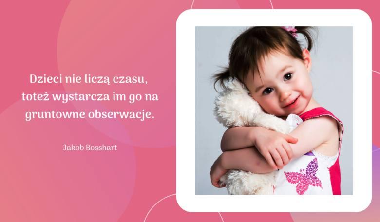 Kiedy śmieje się dziecko, śmieje się cały świat. Zobacz najpiękniejsze cytaty o dzieciach