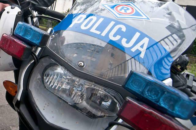 Bydgoscy policjanci na motocyklach patrolowali drogi regionu