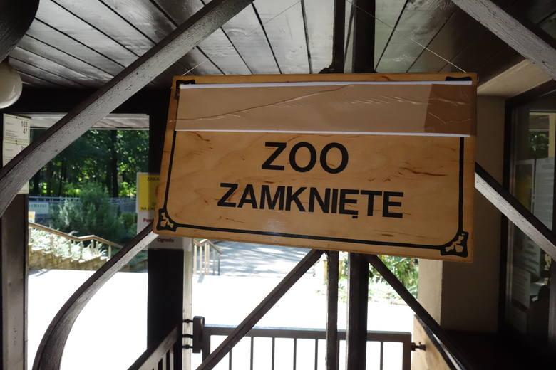 Ogrody botaniczny i zoologiczny są zamknięte aż do chwili, gdy zostaną usunięte wiatrołomy zagrażające odwiedzającym