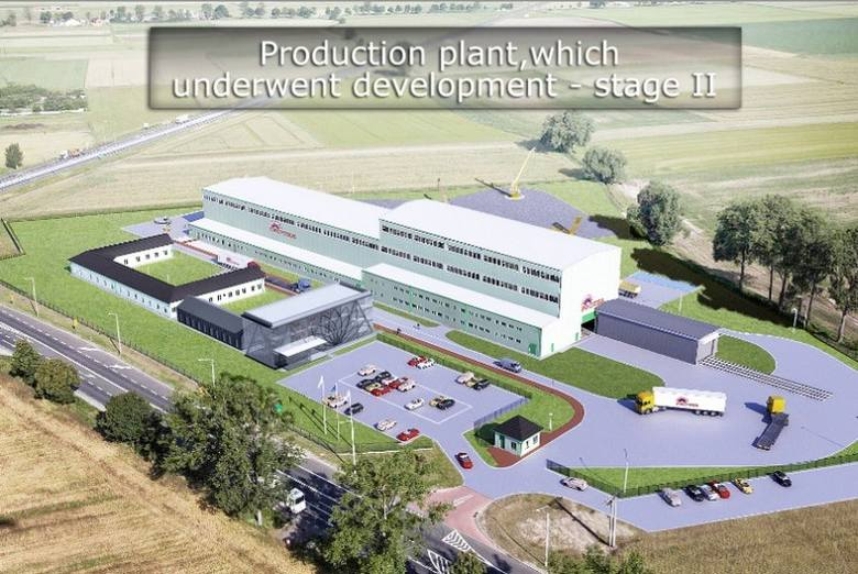 Nowa hala montażowa Protei ma mieć ponad 20 metrów wysokości. Zbudowany zostanie także nowoczesny przeszklony biurowiec. W Ligocie Górnej powstaną nowe
