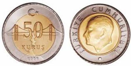 50 kurusów to zaledwie 80 groszy.
