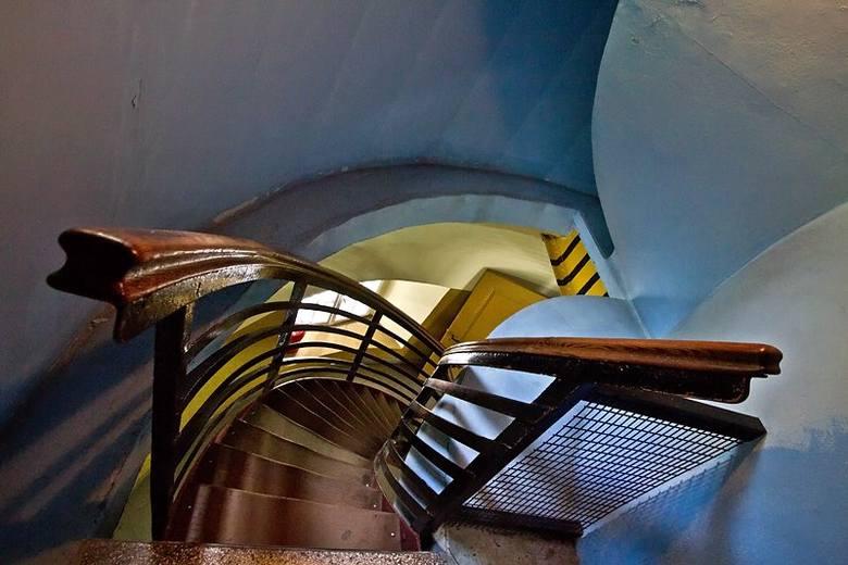 Fotografie klatek schodowych i architektury Rafała Kalinowskiego wykonywane były m.in w Szczecinie, Toruniu, Katowicach i oczywiście w Żorach.