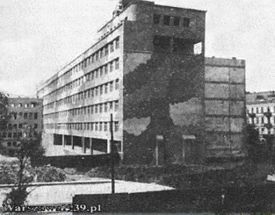 Dworzec Pocztowy w okresie II wojny światowej