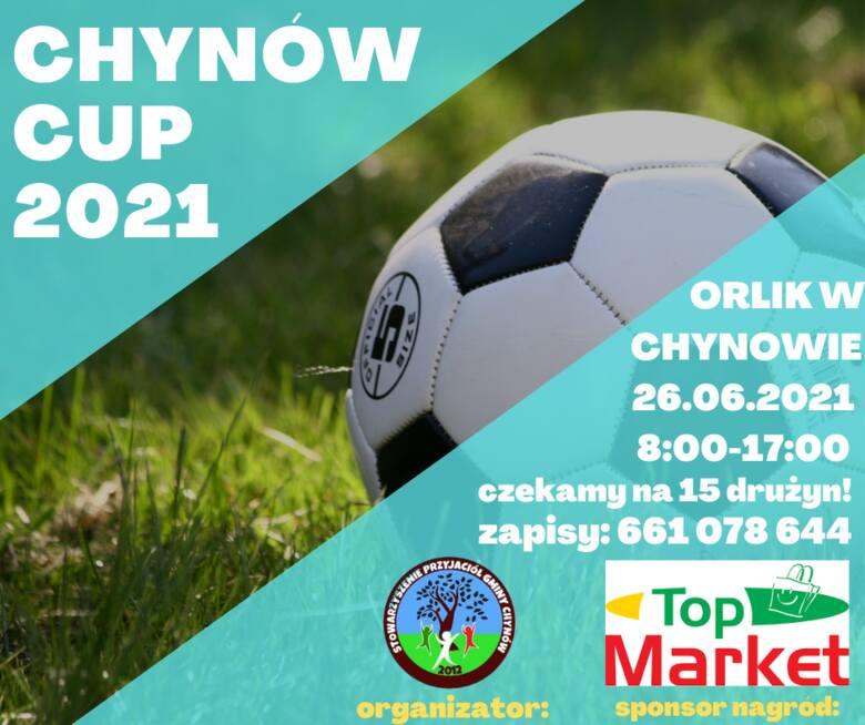 W Chynowie odbędzie się turniej piłki nożnej. Ruszyły zapisy drużyn