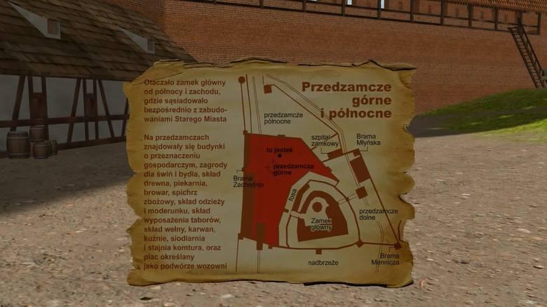 Grafik i pasjonat historii odbudowuje w świecie wirtualnym toruński zamek czasów jego świetności w pierwszej połowie XV wieku. Korzysta przy tym z porad