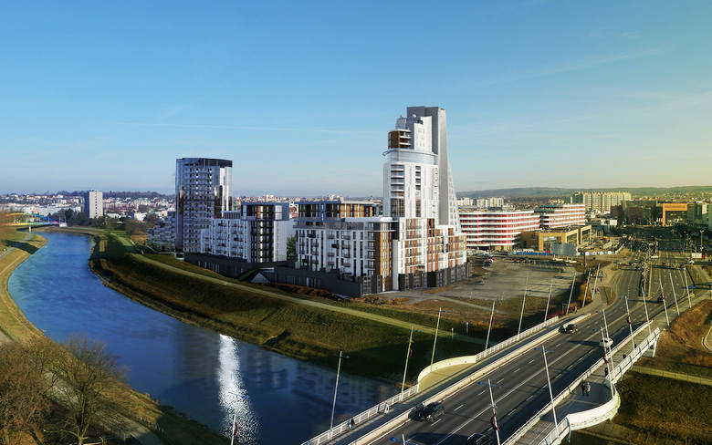 (na zdjęciu Capital Towers)Jeszcze na przełomie lat 80 i 90-tych osiedle Nowe Miasto było największym w Rzeszowie skupiskiem wysokich bloków. 10-piętrowce