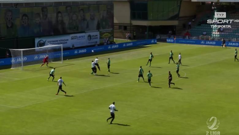 2. liga. Skrót meczu Górnik Łęczna - GKS Katowice 1:0 [WIDEO]