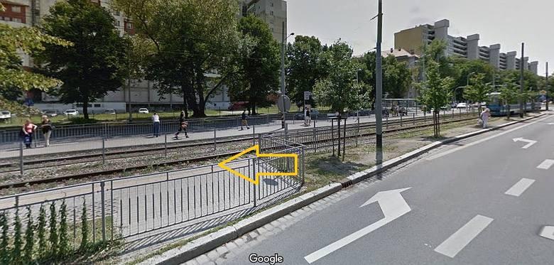 Tutaj powstanie przejście dla pieszych z jednego peronu na drugi
