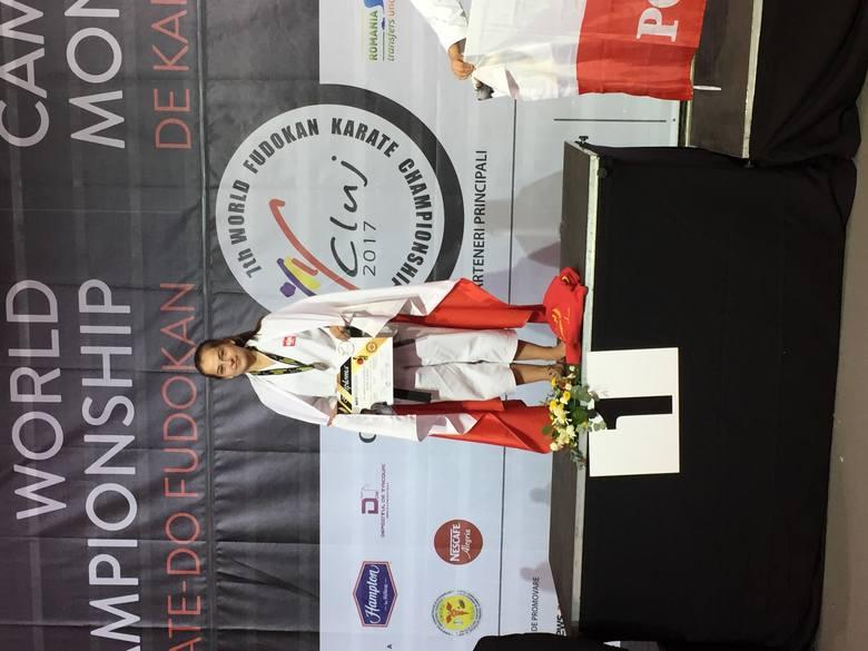 Sześć medali krakowianki Klaudii Mleko w mistrzostwach świata i Europy