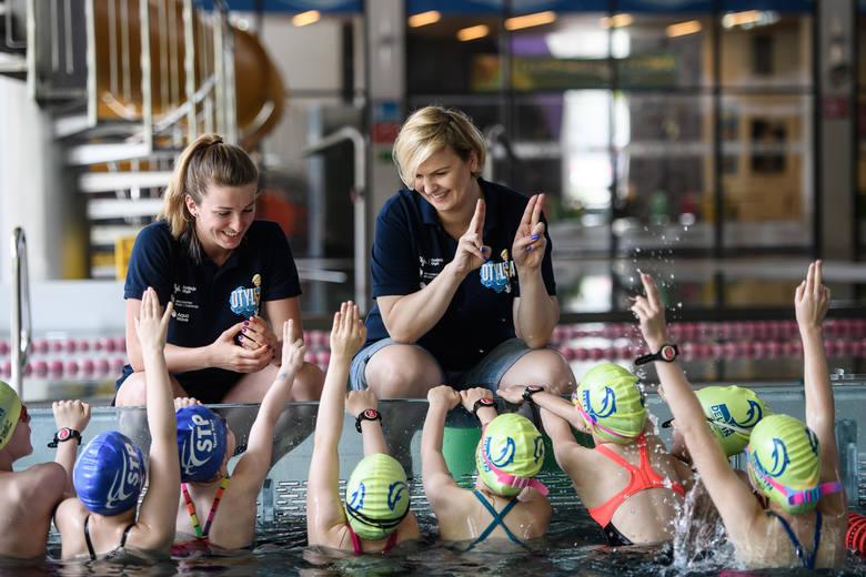 Otylia Jędrzejczak będzie szkolić adeptów pływania w Sanoku