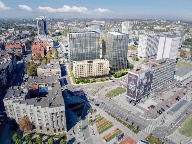 Nova Silesia w KatowicachNova Silesia powstanie na działce u zbiegu ulic Skargi i Wincklera w miejscu wyburzonego hotelu Silesia. Będą to dwa biurowce