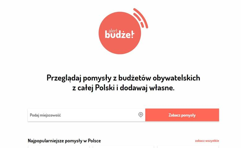 Interesuje Cię budżet obywatelski w Twojej gminie. Wejdź na budzetalert.pl i działaj z nami