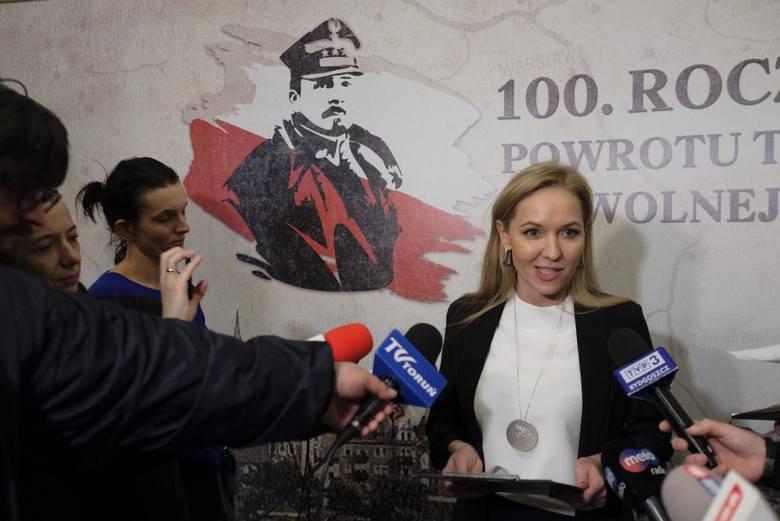 Justyna Wileńska, nowa dyrektor Miejskiego Szpitala Specjalistycznego w Toruniu.