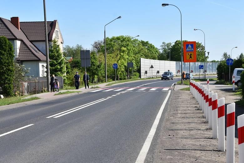 Sławno: Wizja lokalna na ulicy Koszalińskiej. Zainstalują fotoradar [ZDJĘCIA]