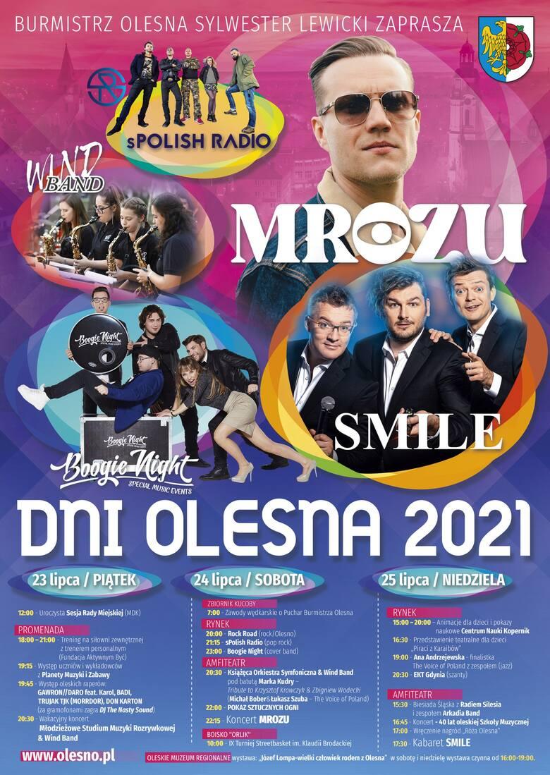 Program Dni Olesna 2021
