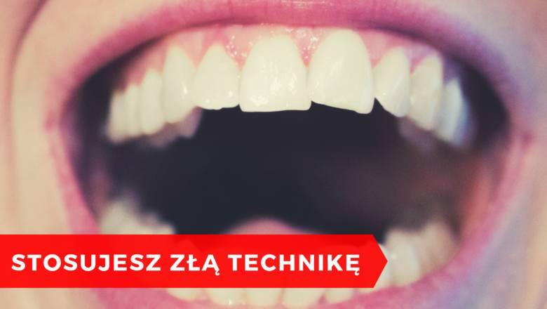 Jeśli na twojej liście codziennych zabiegów higienicznych jest szorowanie zębów… zamień to na mycie. Poziome szorowanie zębów to nie najlepszy pomysł