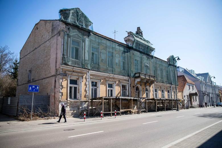 Tak wygląda Pałac Tryllingów przy ul. Warszawskiej 7.