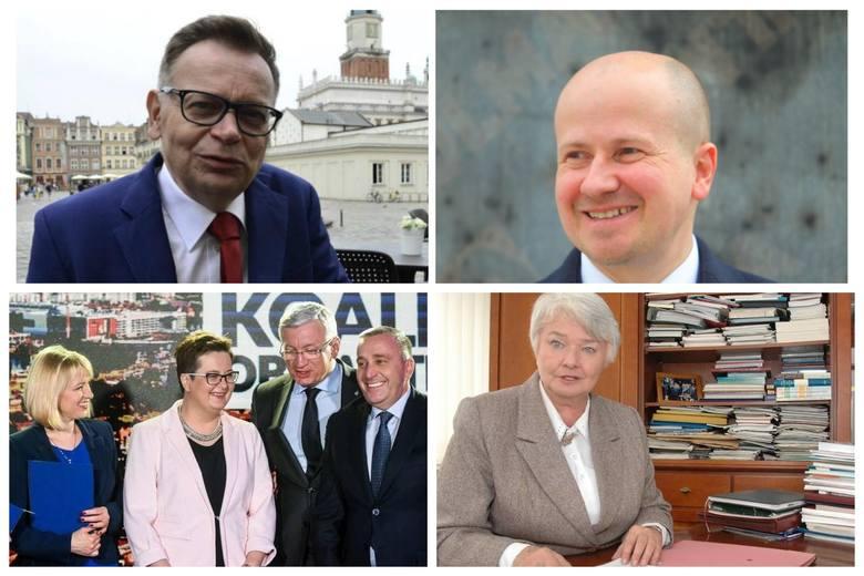 Niespodziewana rezygnacja jednego z kandydatów na prezydenta Poznania, spór wewnątrz PiS, konflikty o listy wyborcze PO, procesy sądowe byłych polityków