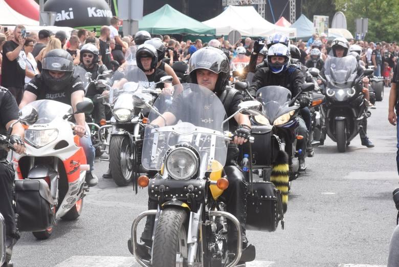 Jedną z atrakcji Łagowa jest coroczny zlot motocyklistów