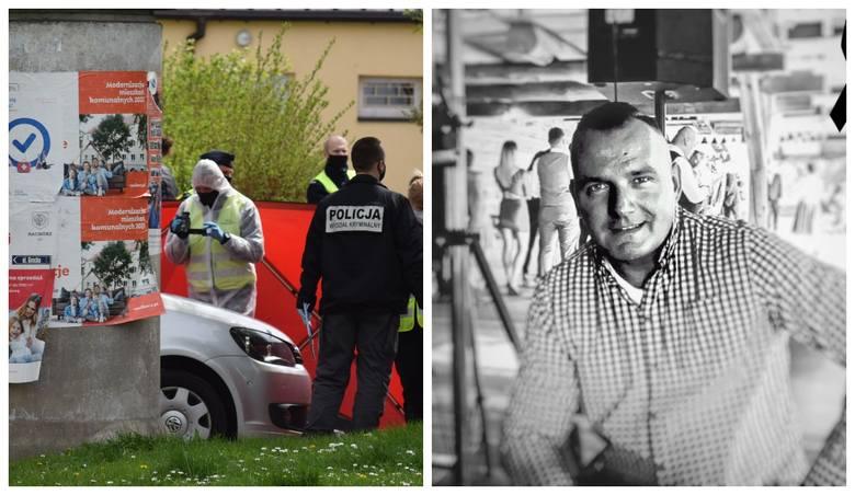 Mł. asp. Michał Kędzierski został zastrzelony na służbie podczas kontroli na ulicy Chełmońskiego w RaciborzuZobaczkolejnezdjęcia. Przesuwajzdjęcia