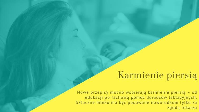Po 1 stycznia 2019 roku wchodzi w życie nowe prawo na porodówkach w Polsce. Przyszłe mamy mogą być zaskoczone zmianami i nowymi standardami opieki. Co