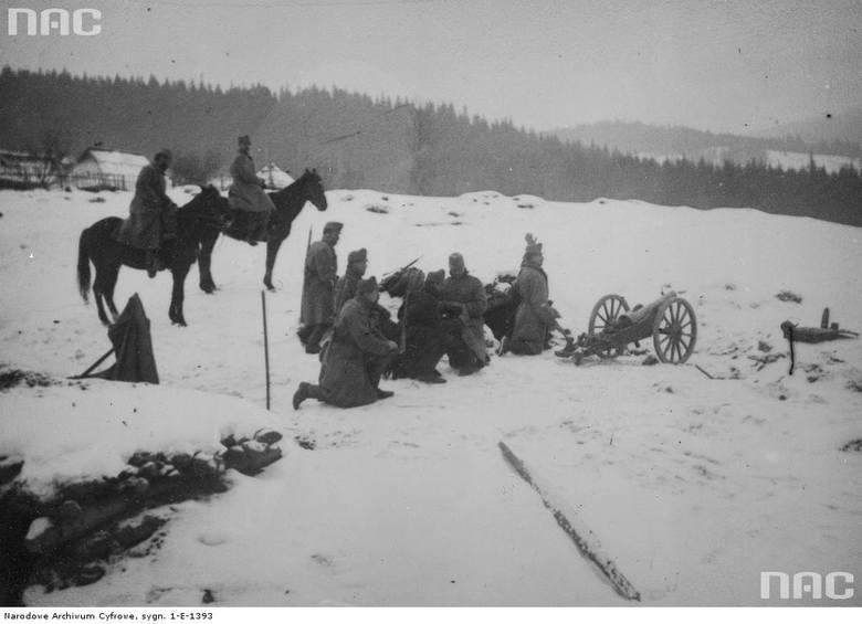 Artyleria austro-węgierska, między 1914 a 1918.<br />