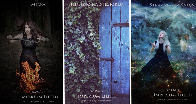 """Magicznych kadrów z autorskich sesji fotograficznych """"Poza Rzeczywistością"""" nie zabraknie na kartach """"Imperium Lilith"""", gdyż wiele osób zapragnęło wcielić"""