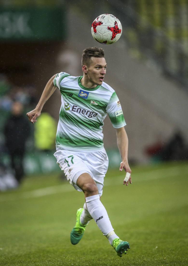 Lukas Haraslin - słowacki pomocnik ma coraz mocniejsza pozycję w gdańskiej drużynie