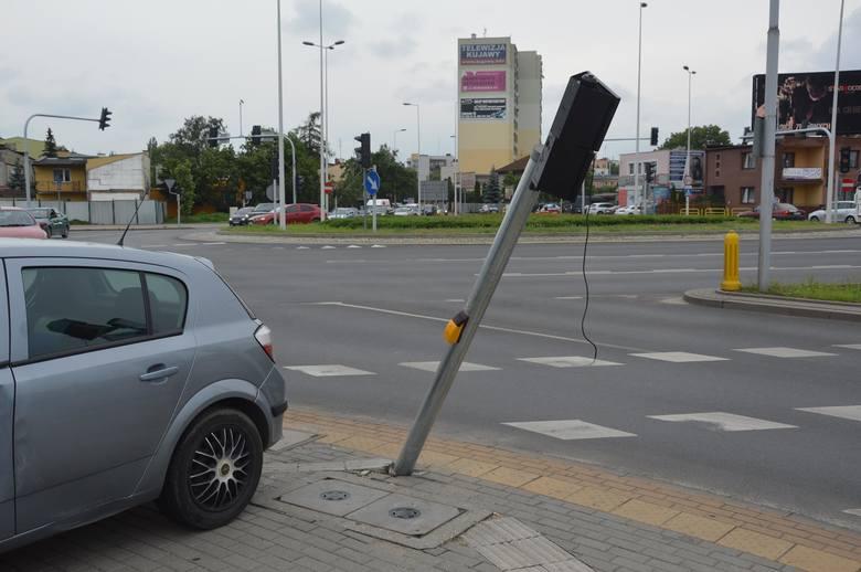 Awaria sygnalizacji na skrzyżowaniu we Włocławku. Stoimy