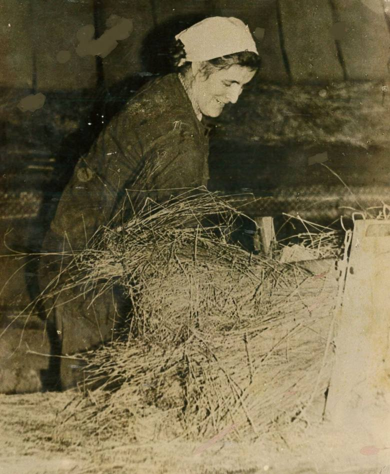 Niejeden ręcznik lub obrus miał swój początek w Nędzy. W roszarni przetwarzano słomę lnianą na włókna, które później służyły do produkcji nici, tkanin, czy sznurów.
