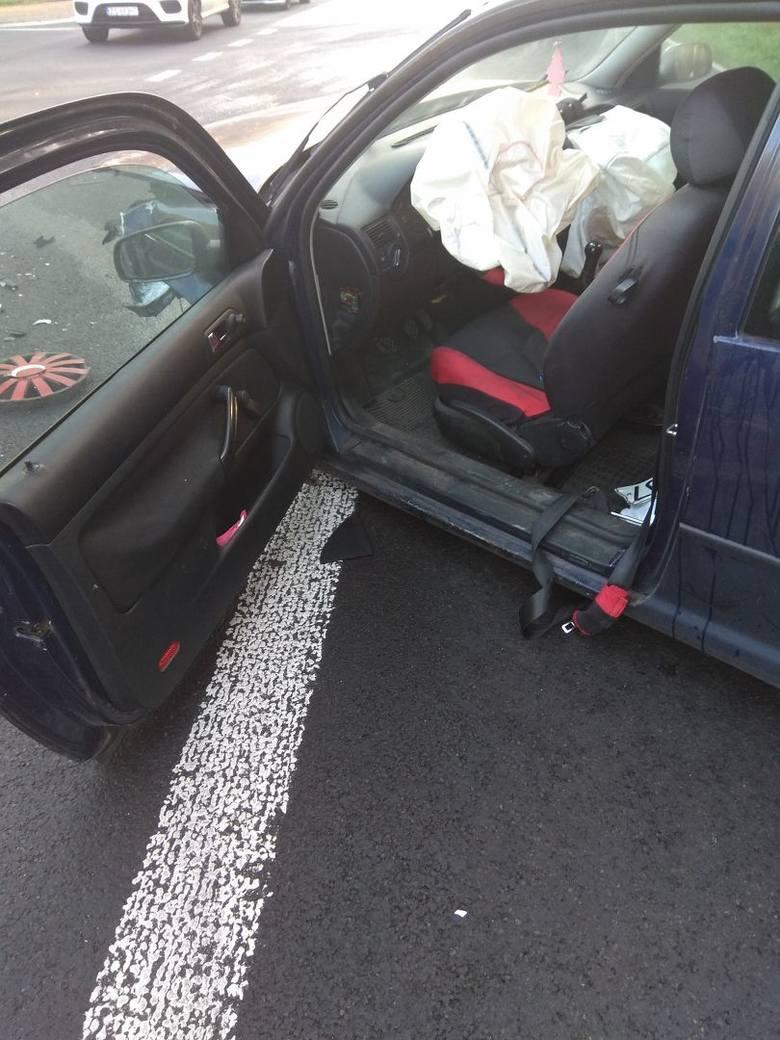 Wypadek na drodze Szczecin - Chociwel. Dwie osoby ranne [AKTUALIZACJA]