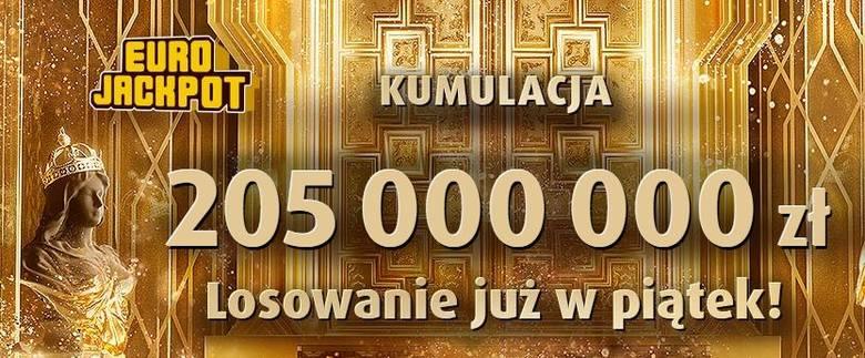 EUROJACKPOT WYNIKI 2 08 2019. Losowanie na żywo Eurojackpot 2 sierpnia 2019. Do wygrania jest 205 mln zł! [wyniki, numery, zasady]