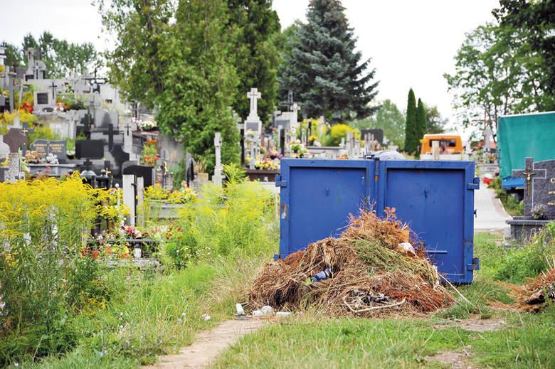 Nasza Czytelniczka mówi, że parafia pobiera pieniądze na sprzątanie cmentarnych alejek. Ich stan pozostawia jednak wiele do życzenia.