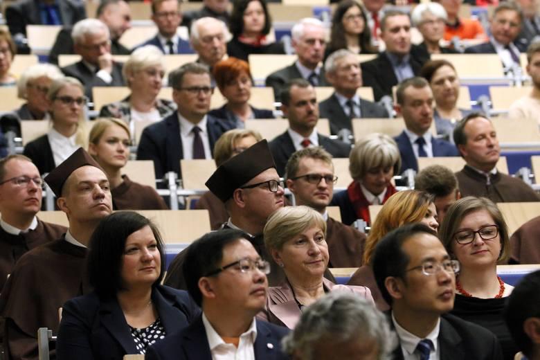 Urodziny Politechniki Lubelskiej. Honorowe tytuły dla profesorów ze Słowacji, Chin i Kazachstanu (ZDJĘCIA)