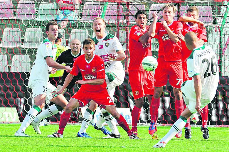 Piłkarze Widzewa w rundzie jesiennej zdobyli 21 punktów.