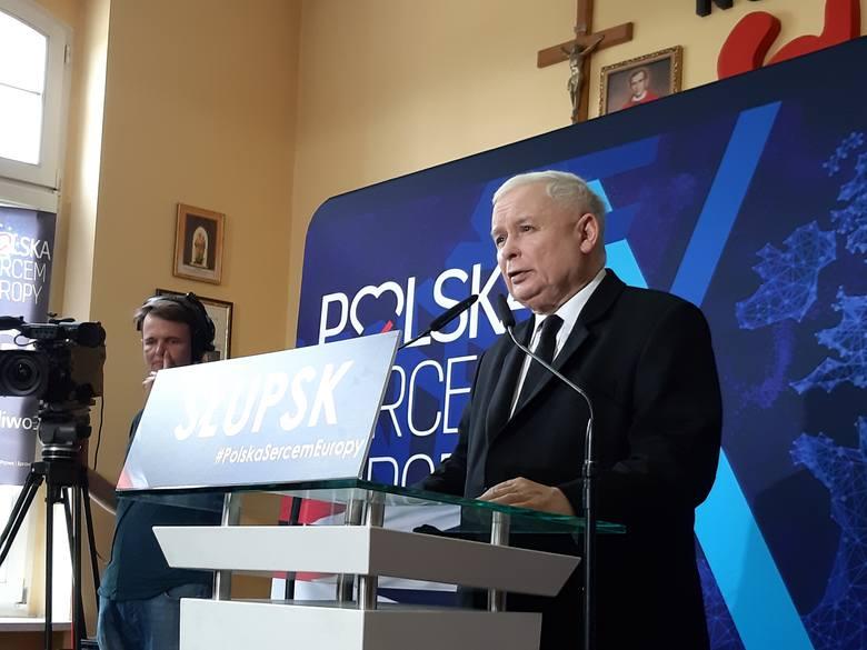 W sali konferencyjnej NSZZ Solidarność przy ul. Jedności Narodowej w Słupsku odbyło się otwarte spotkanie Anny Fotygi, kandydatki PiS do Europarlamentu